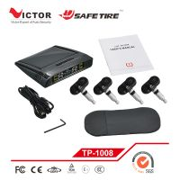 Solar power tpms with internal sensor or external sensor optional VT-TP1008