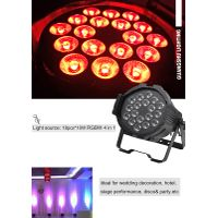 Indoor High Power DMX RGBW 4in1 18pcs 10W Stage LED Wash Par Can Light