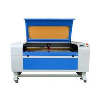 Laser cutting machine for cutting and engraving wood acrylic glass thumbnail image