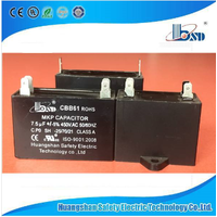 Cbb61 Fan Motor Run Capacitor, Capacitor for Fan