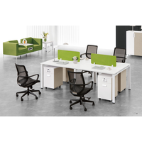 modern office staff desk( PG-F17A-4A)