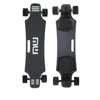 quiet hub motor electric skateboard with remote longboard