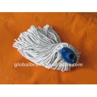 HQ502 flat polyester mop/floor cotton mop with iron screw handle thumbnail image