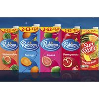 Rubicon Exotic Juices, All Flavours & Sizes thumbnail image