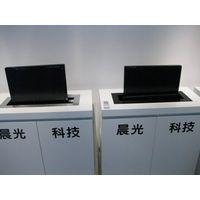 LCD screen automatic pop up mechanisms