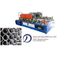 Double end chamfering and tapping machine