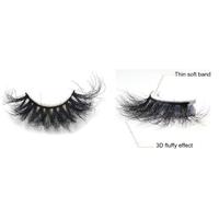 3D Mink Eyelash False Eyelash