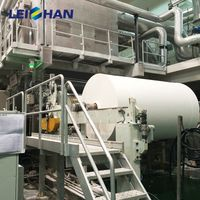 Full automatic a4 paper printing paper whiting paper making machine thumbnail image