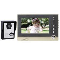 "Wireless video door phone intecome 7"" LCD visual door camera phone thumbnail image"