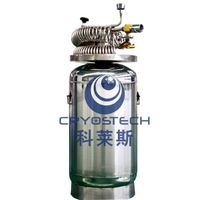 Stationary liquid oxygen respirator