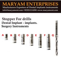 Dental implant drills Stopper Drill implant