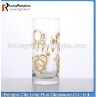 LongRun wholesale pitcher Duralex 3d sprinting juice beverage glass tumbler