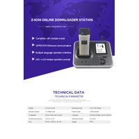 Z-9200 Online IP Based Data Downloader Communication Base for Guard Tour System