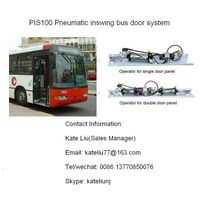 Pneumatic Inward gliding/inswing/slide glide Bus Door System for city bus and transit bus(PIS100) thumbnail image