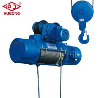 china supplier wire rope electric hoist