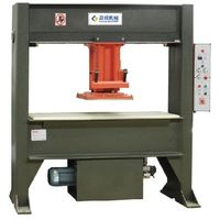 Travelling Head Hydraulic Clicker Press Die Cutting Machine for Leather Plastic Foam Fabric Eva