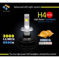 Car accessory cree mtg2 12V led headlight