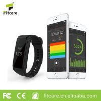wristband heart rate monitoring fitness tracker bluetooth watch wristband
