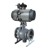 CE Approved AT Series Spring Return Single Acting Pneumatic Valve Actuator