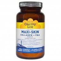 Megavitamins - Country Life Maxi-Skin verisol Collagen + C &A Powder Flavorless Supplement Australia