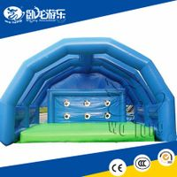 outdoor inflatable football soccer goals, inflatable playground game
