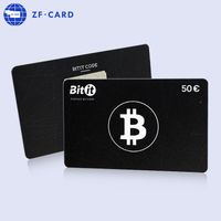 ISO14443A Black Rewritable Rfid Original Ntag215 Chip Card