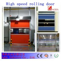 quick door, pvc fast door, pvc transparent rolling door