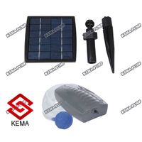 1.5W 2lpm >450mmhg Solar Air Pond Pump for Fish Pond or Aquarium