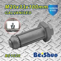 M20X33X100mm Sleeve Anchor Stainless Steel Grade 12.9 thumbnail image