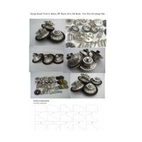 vacuum brazed diamond profile wheels. stone tools profile wheels, diamond tools