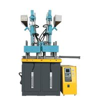 Double Color Vertical Injection Machine