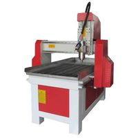Low price 3D CNC router 6090, comes with square guide rail 4 axis