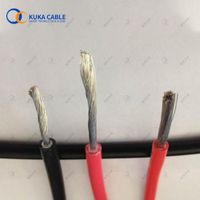 tinned copper dc wire soalr cable 2 core exported from China