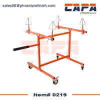 0219 Tire Repair Stand, Tire Rotating Painting Stand