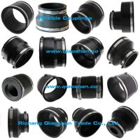 Flexible Coupling 1006 Series Concrete to Cast Iron or Plastic Pipe Connection