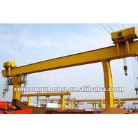 C model single girder outdoor gantry crane with 3-32t