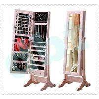 living room design standing mirror jewelry armoire