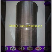 250um stainless steel continous filter belt for Plastic Extruder screen changer machine