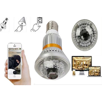 wireless IP bulb camera