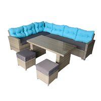 hormel furniture outdoor garden patio sofa set