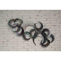 abstract modern wall art sculptures thumbnail image