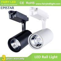 Hot-selling High Bright Epistar COB LED Track Light 10W 20W 30W 3 years warranty