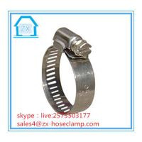 China American Types Hose Clamp Stainless Steel Hose Clip thumbnail image