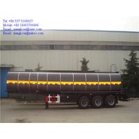 40000 liters 3 axles asphalt tank semi trailer