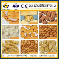 CE certification fully automatic corn snack food machine thumbnail image