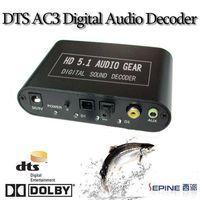 AC3 DTS HD Digital audio decoder 5.1 AUDIO GEAR DECODER