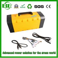 2016 New Product Outdoor 12V60ah UPS Lithium Battery for AC/DC Vehicle/Home Power Supplies