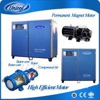 Energy saveing 185kw 250Hp 1Mpa Permanent Inverter Screw Air Compressor