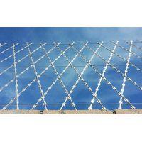 Welded razor wire fence | Razor mesh ----- WM Wire Industrial thumbnail image