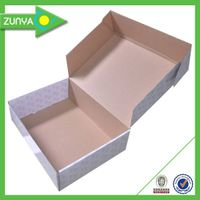 OEM logo printing corrugated paper colorful shipping boxes